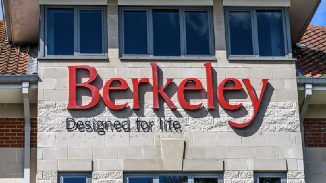 Berkeley holdings announces an interim dividend of 107.0 pence per share