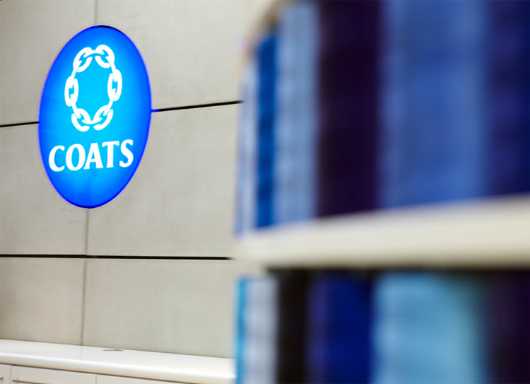 Coats Group announce a full-year dividend increased by 11% to