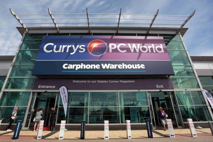 Dixons Carphone announce a maintained interim dividend of 2.25p