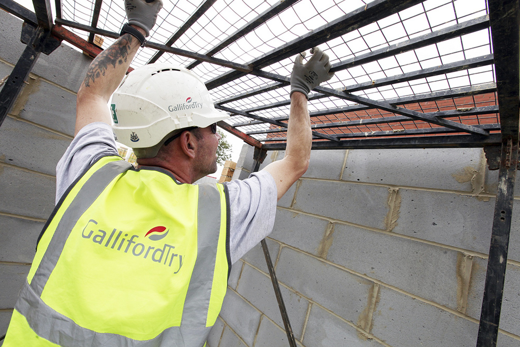 Galliford Try PLC declare a full-year dividend of 58.0p. down from 77.0p the previous year