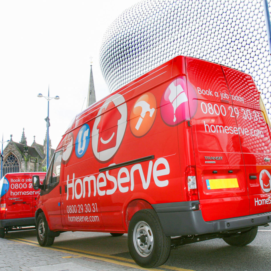 Homeserve announce an interim dividend up 12% to 5.8p.