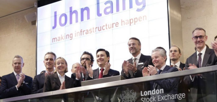 John Laing Group announce a final dividend of 7.66p per share including a special dividend 3.98p per share