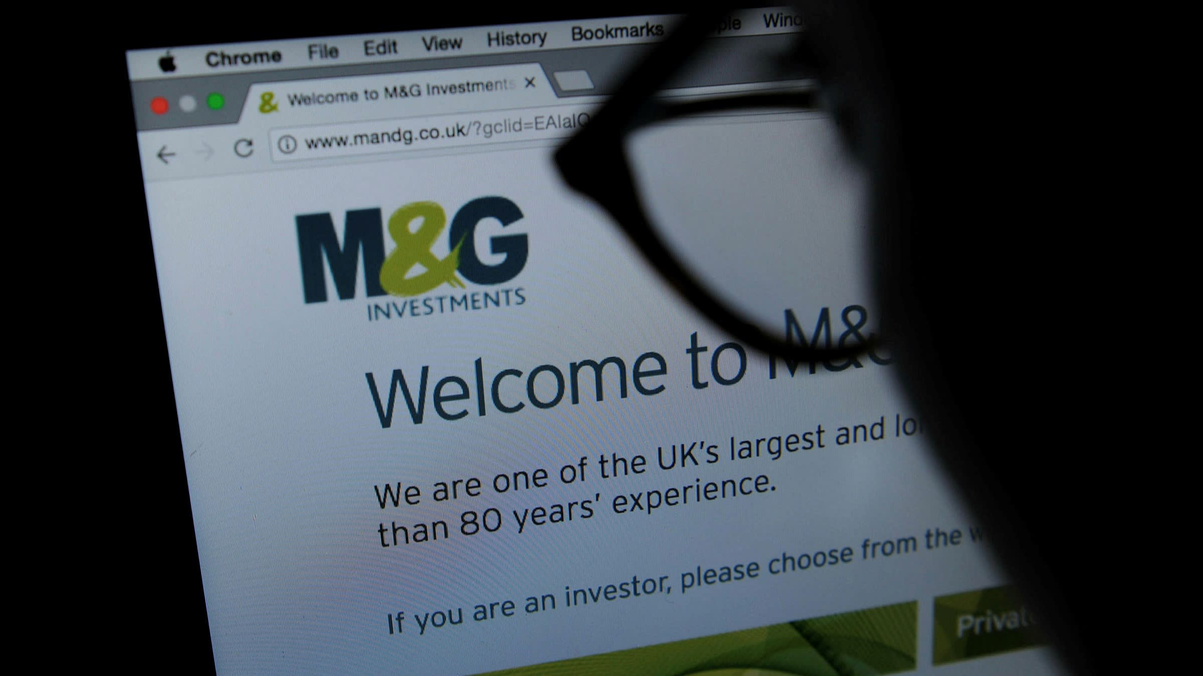 M&G announce an interim dividend of £155 million equal to 6.00p per share