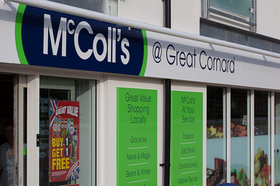 Mccoll's Retail Group plc announce a dividend cut