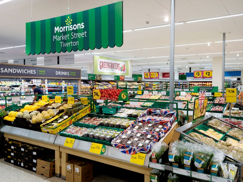 Morrison Supermarkets announce their interim ordinary dividend is up 4.3% to 1.93p, and a special dividend of 2.0p