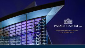Palace Capital announces a 4.75 pence per ordinary share quarterly dividend