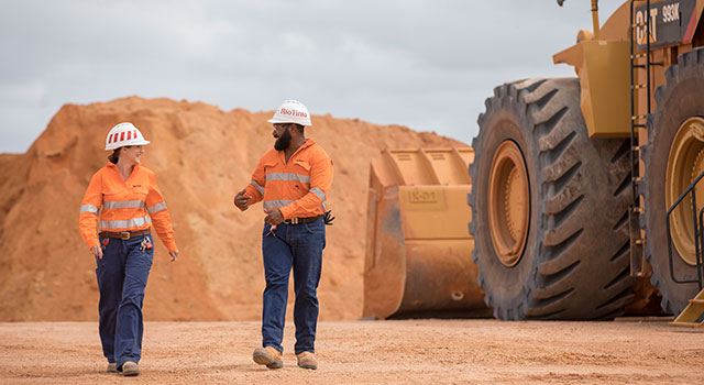 Rio Tinto have announced a 19% increase in their dividend