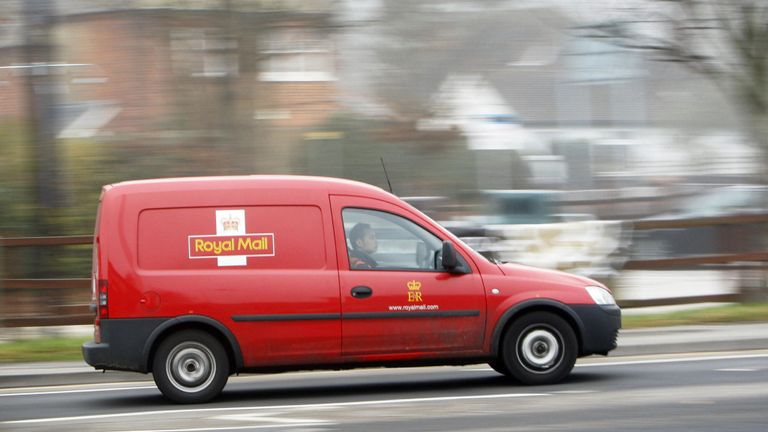Royal Mail has declared a decreased interim dividend of 7.5 pence per share, in line with new dividend policy