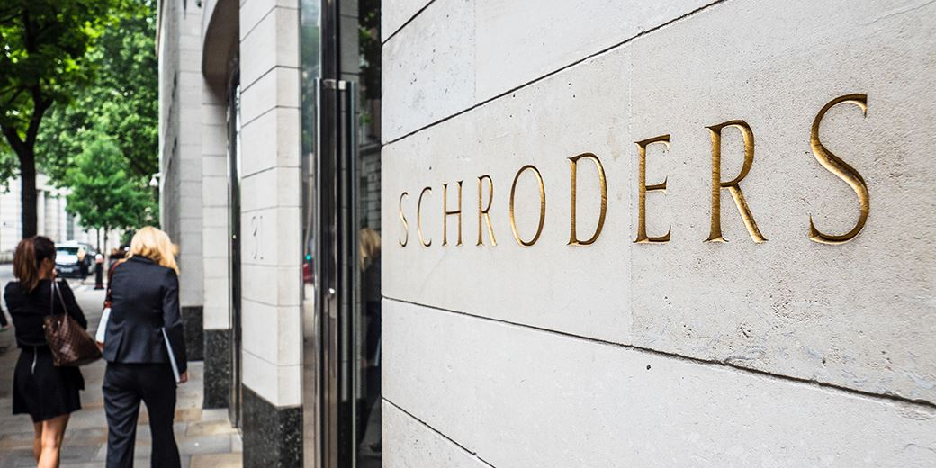Schroders announce maintained total dividend of 114p per share