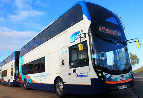 Stagecoach announce an interim dividend maintained at 3.8 pence per share