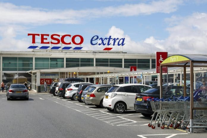 Tesco announce an interim dividend of 2.65p, +58.7%; expect full year dividend pay-out ratio of 50%