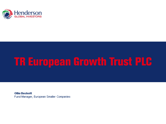 TR European Growth Trust plc